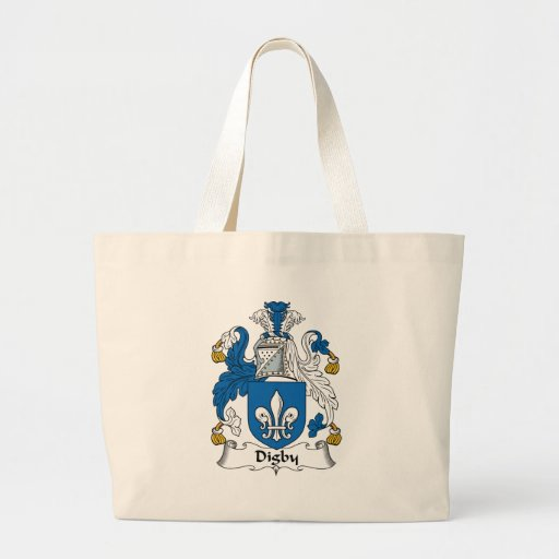 Digby Family Crest Canvas Bag