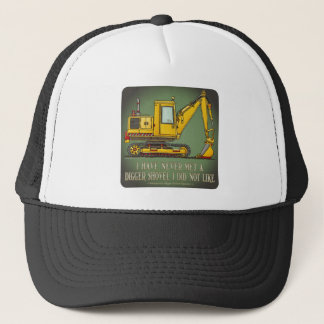 Digger Shovel Operator Quote Hat