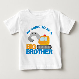 Digger Truck Going To Be A Big Brother Tee Shirts