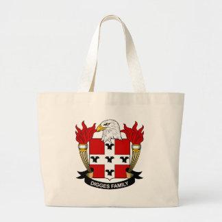 Digges Family Crest Canvas Bag