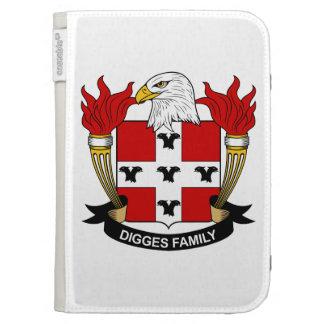 Digges Family Crest Kindle 3 Case