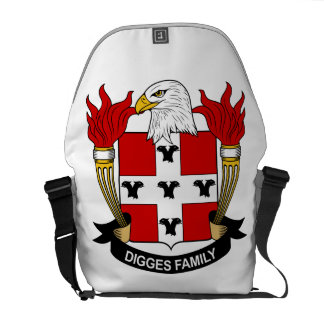 Digges Family Crest Courier Bags