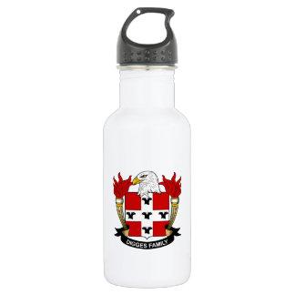 Digges Family Crest 18oz Water Bottle