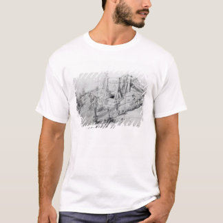 Digging a well in Lower Bedford Place, London T-Shirt