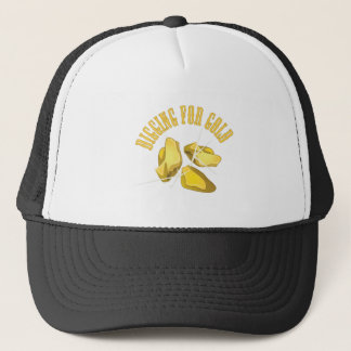 Digging For Gold Trucker Hat