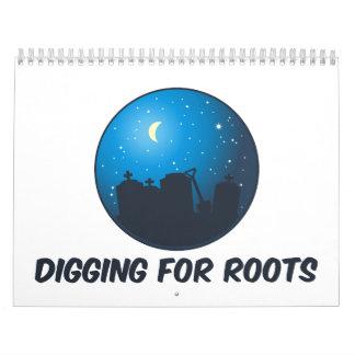 Digging For Roots Calendar