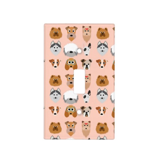 Diggity Do Dog Light Switch Cover