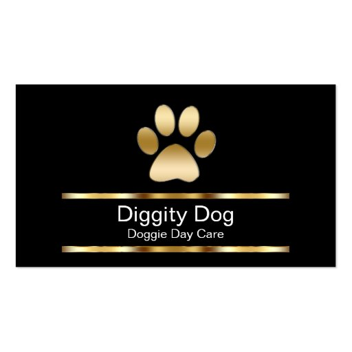 Diggity Dog Business Cards