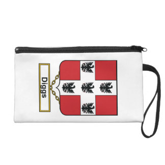 Diggs Family Crest Wristlet