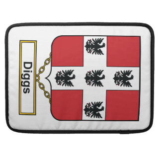Diggs Family Crest Sleeve For MacBooks