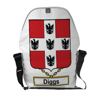 Diggs Family Crest Courier Bags