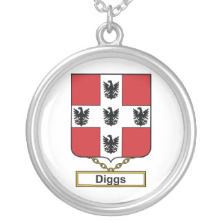 Diggs Family Crest Custom Jewelry