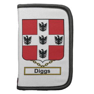 Diggs Family Crest Folio Planner