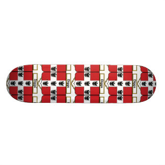 Diggs Family Crest Skate Board Deck