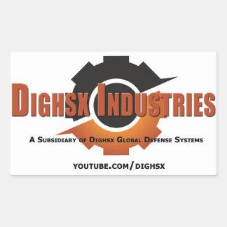 Dighsx Industries Logo Sticker