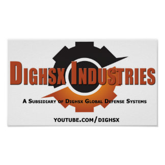 Dighsx Industries Poster