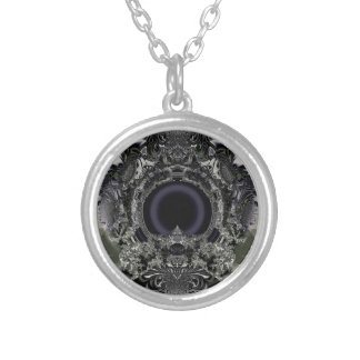 Digi arts silver plated necklace