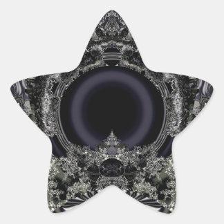 Digi arts star sticker