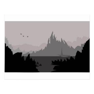Digi Mountains Postcard