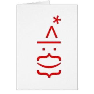Digi-Santa Card