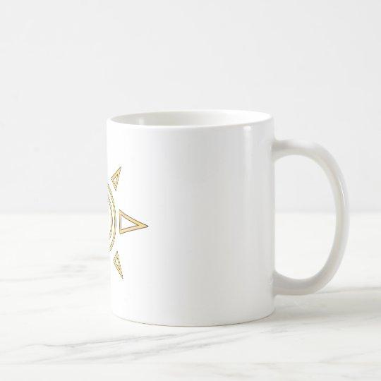 Digimon Crest of Courage Coffee Mug