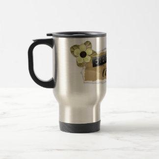DigiShopTalk Torn Paper Travel Mug
