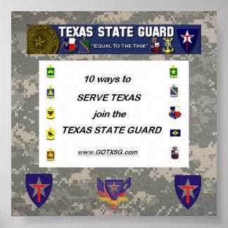 digital, 10 ways to TXSG, TXSG License plt full... Poster