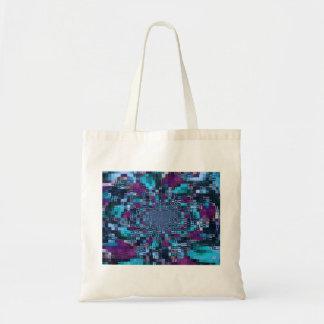 Digital Abstract Art Budget Tote Bag