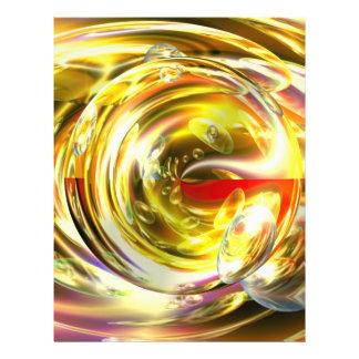 Digital Abstract Art Flyer