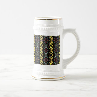 Digital Abstract Art Imperial Pattern Coffee Mugs