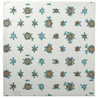 Digital abstract background.Geometric pattern Napkin