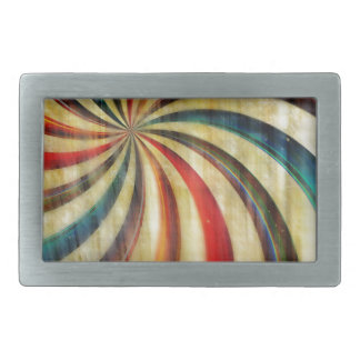 Digital abstract background in retro digital belt buckles