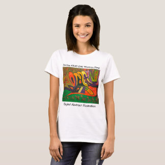 Digital Abstract Illustration C. T-Shirt