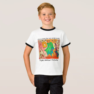 Digital Abstract Illustration DAI C. T-Shirt