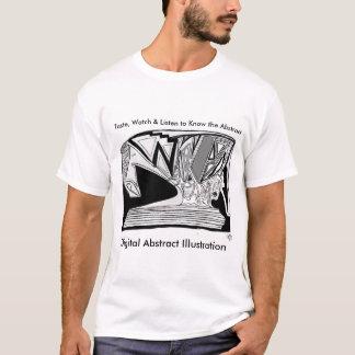 Digital Abstract Illustration Divine 6x40 DAI T-Shirt