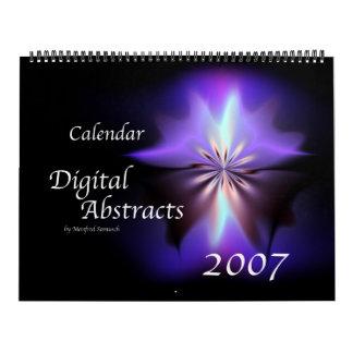 Digital Abstracts 2007 Calendar