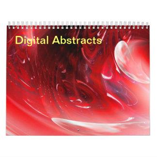 Digital Abstracts 2017 Calendars
