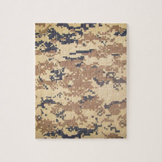 digital army military camouflage pattern gifts jigsaw puzzle