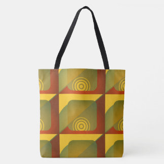 Digital Art Abstract Pattern Tote Bag