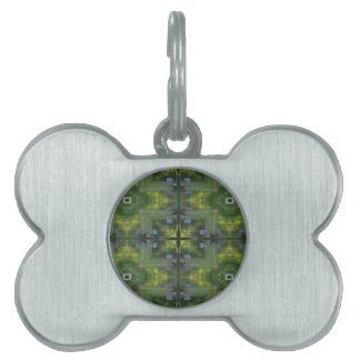 Digital art bone shaped pet tag. pet tag