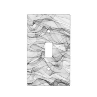 Digital Art Cool Modern Abstract Pattern Light Switch Cover