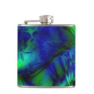 Digital Art Cool Modern Abstract Unique Flasks