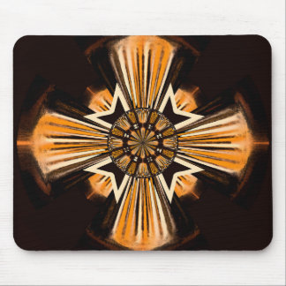 Digital art cross mouse pad