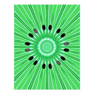 Digital art kiwi flyer design