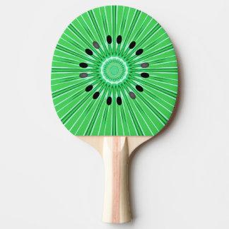 Digital art kiwi Ping-Pong paddle