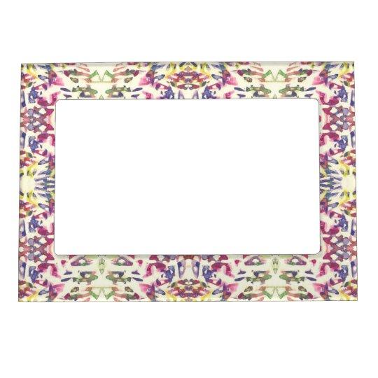 Digital Art Pattern Magnetic Frame