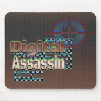 Digital Assassin Mouse Pad
