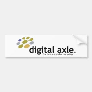 Digital Axle. Bumper Sticker