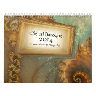 Digital Baroque 2014 Calendar