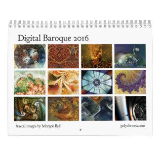 Digital Baroque 2016 Calendar
